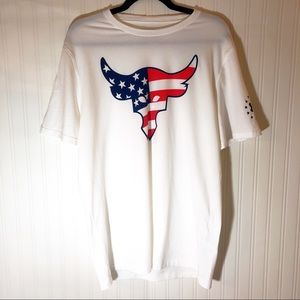 Under Armour X Project Rock Freedom Bull T-shirt